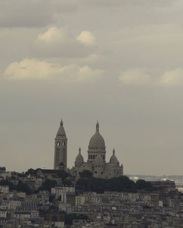 View of the Sacre coeur
