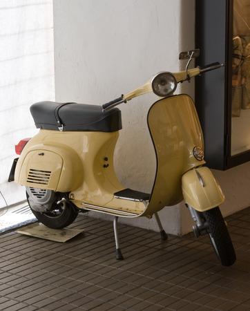 Italian scooter Banco de Imagens - 1576797