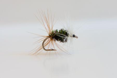 Fly-fishing lure Banco de Imagens - 5013798