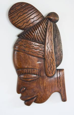 African carving photo