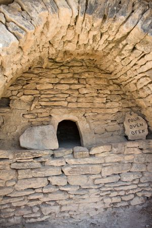antiquity: Antiquity oven in the south of France