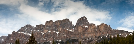Castle Cliffs in Banff national park Stock Photo - 9628985