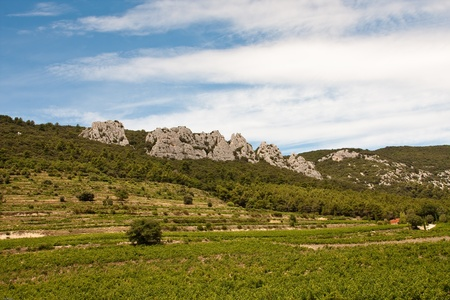 Lace of Montmirail in Provence, France Stock Photo