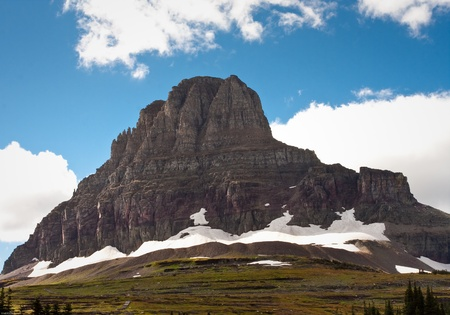 Landscape of Glacier national park during the fall Stock Photo - 10928981