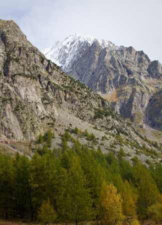 landscape near Courmayeur in Italy  Stock Photo - 16291440