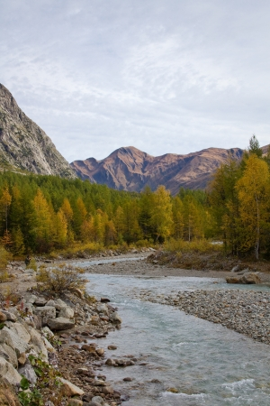landscape near Courmayeur in Italy  Stock Photo - 16291433