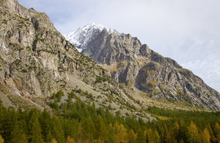 landscape near Courmayeur in Italy Stock Photo - 16291442