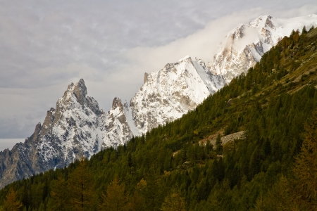 landscape near Courmayeur in Italy  Stock Photo - 16291441