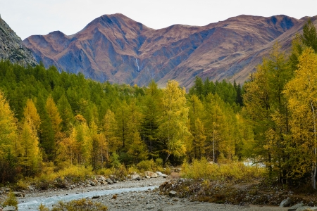 landscape near Courmayeur in Italy  Stock Photo - 16291444