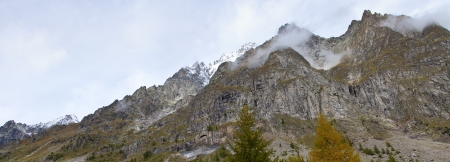 landscape near Courmayeur in Italy Stock Photo - 16291446