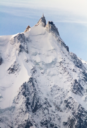 Aiguille du Midi in Chamonix, France  photo