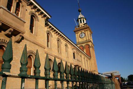 prominent: Customs House - Newcastle Australia - A prominent local landmark.