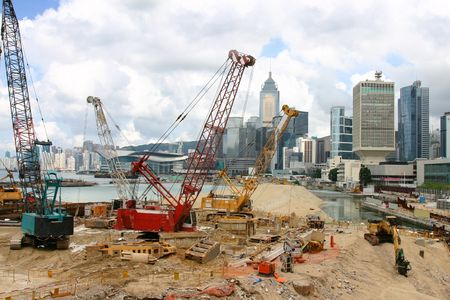 reclamation: Land reclamation Hong Kong