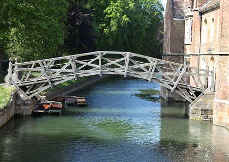 cambridge: Bridge Stock Photo
