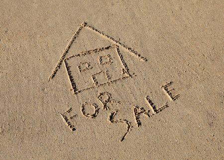 A beach house for sale photo