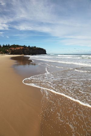 Redhead Beach - Newcastle Australia. Redhead is one of Newcastle's beautiful beaches, the coastal city is Australia's second oldest city. Stock Photo - 7881417
