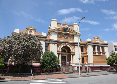 Newcastle Courthouse was built in 1890 and is still in use. A new courthouse will replace this historical building in 2015 on a new site. Newcastle is Australia photo