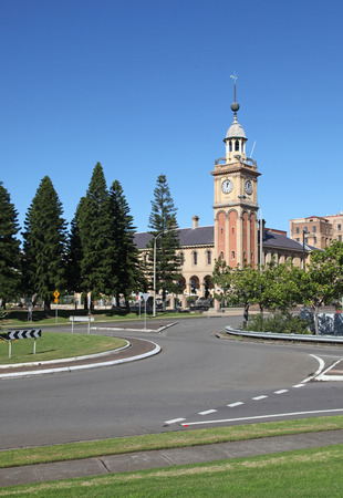 local landmark: Customs House Newcastle Australia is a prominent local landmark in Australia