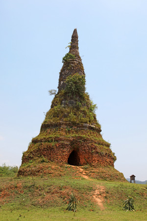 bandits: That Founa Stupa was built in 1576 to house Buddha relics. The stupa was damaged in the 19th century by Chinese Haw bandits that tunnelled into the stupa.