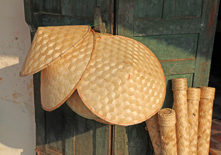 east asia: Woven conical hats are an iconic symbol of South East Asia