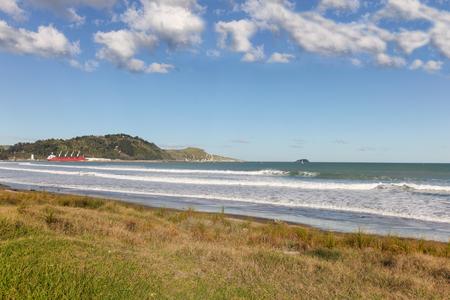 new zealand beach: Beach at Poverty Bay - Gisbourne North Island of New Zealand