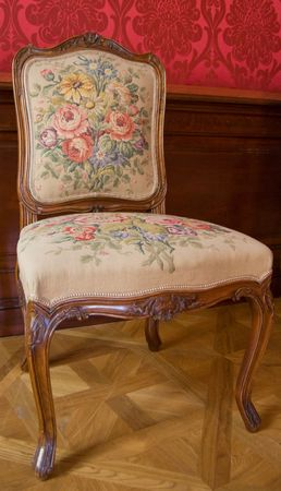 baroque style chair Stock Photo - 5016748