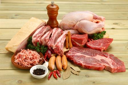 carnes: varios carne