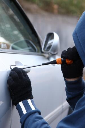 car thief photo