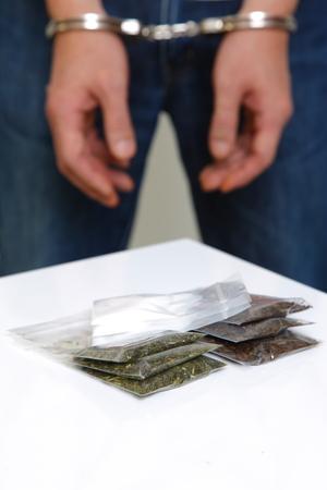 arrested drug dealer photo