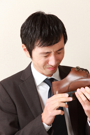 shoe smell photo