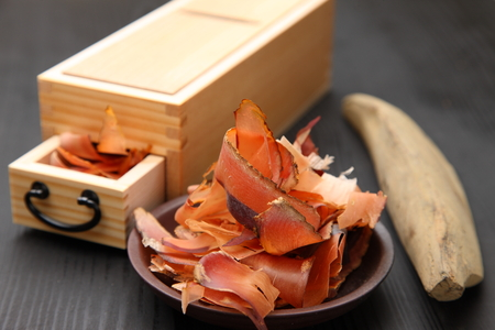 Dried Bonito for Japanese Soupstock with Dried Bonito slicer