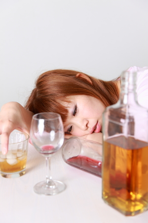 drunkenness: Drunkenness Woman