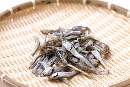 일본 된장국을위한 말린 정어리