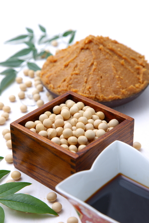 processed: Japaneese traditional soybean processed foods