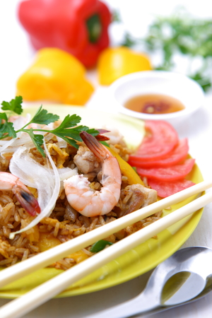 goreng: nasi goreng Stock Photo