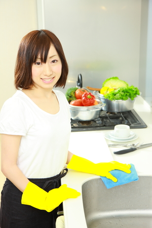 주방 청소