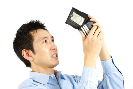 waster: poor man Stock Photo