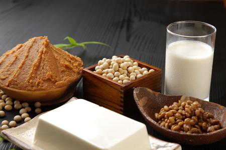 processed food: Japanese soybean processed food