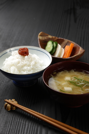 processed food: Japanese meal Stock Photo