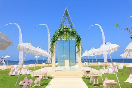 wedding chapel by the beach photo