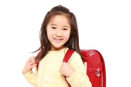Japanese School Girl Smiles photo