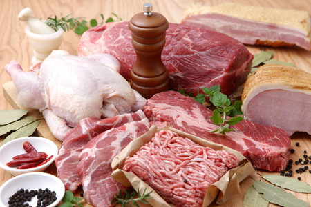 Various Fresh Meats