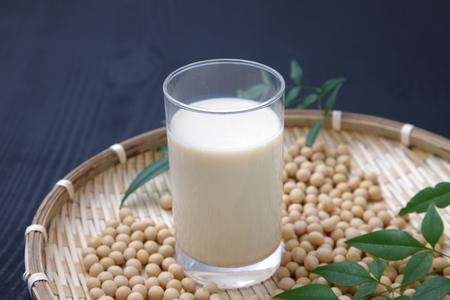 leche de soya: leche de soya