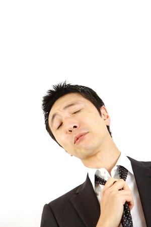 spiritless: spiritless businessman