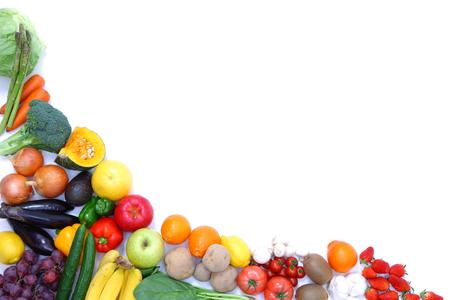 果物や野菜のフレーム