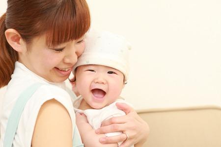 baby in a good mood Foto de archivo