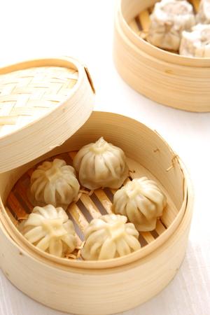 dim sum: steamed meat dumpling
