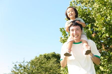 Padre e figlia Archivio Fotografico - 32615279