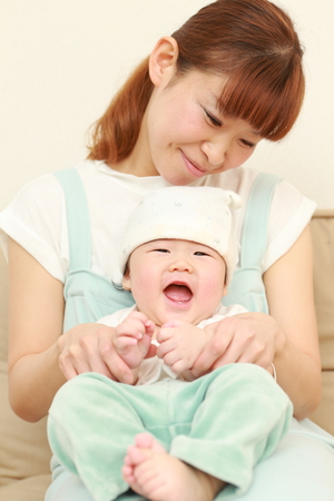 baby cute: mom and baby