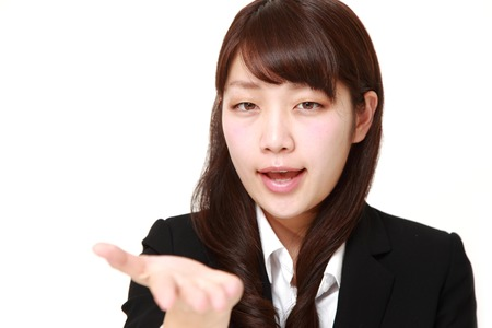 denunciation: angry businesswoman requests something